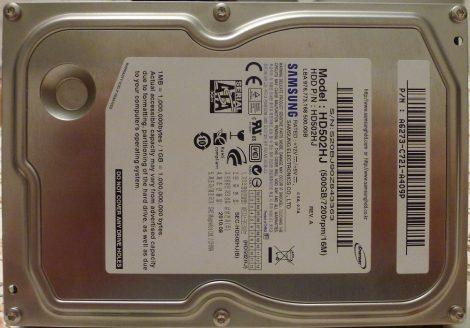 Samsung HD502HJ 500GB Sata HDD merevlemez 100%/100% SpinPoint F3