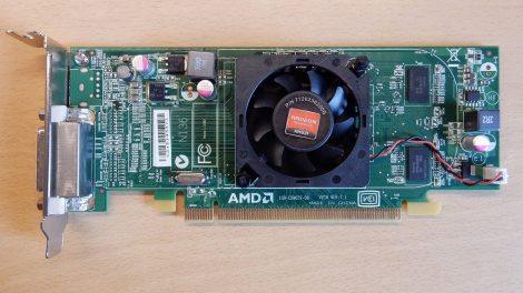 AMD Radeon HD 5450 [DELL]  512M DDR3 PCI-e VGA kártya DMS-59 csatlakozóval - Low Profile - alacsony