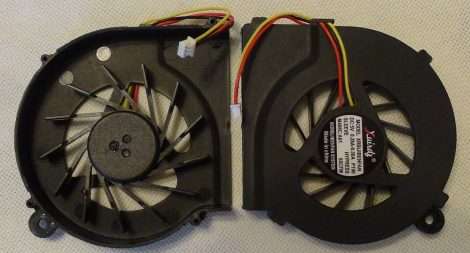 HP Compaq CQ42 CQ56 G42 CQ62 G62 G4 series laptop CPU Fan processzor hűtő