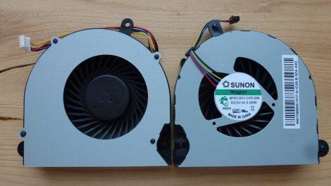 HP Elitebook 8460 8560 8570 Hp Probook 6570 6A9 laptop CPU Fan processzor hűtő