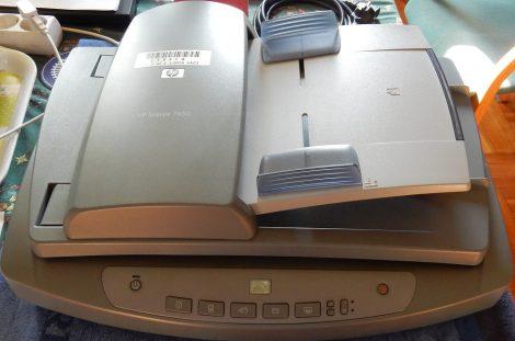 HP ScanJet 7650 USB szkenner dia feltéttel - táp nélkül
