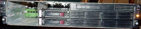 HP ProLiant DL180 G5 2U Rack szerver HSTNS-5116 - használt