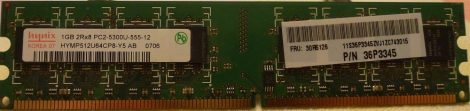 hynix HYMP512U64C88-Y5 1GB DDR2-667 RAM modul DDR2-SDRAM PC2-5300U