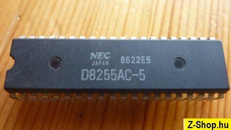 NEC JAPAN D8255AC-5 - Intel 8255 kompatibilis - bontott alkatrész