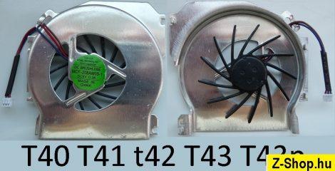IBM ThinkPad T40 T41 T42 T43 T43p 91P9254 26R7860 laptop CPU Fan processzor hűtő