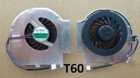 IBM ThinkPad T60 T60P 41V9932 26R9434 FRU 41V9932 K3D6 laptop CPU Fan processzor hűtő