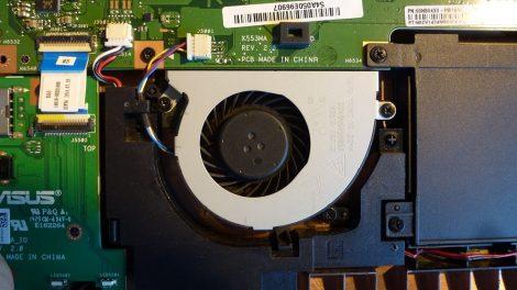 Asus X553M KSB0505HBA02 laptop CPU Fan processzor hűtő X403M X553S X553M X553MA K553M F553M D553M X503M F503M