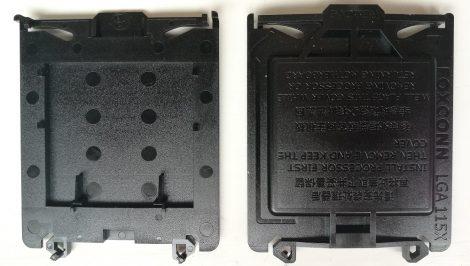 alaplap CPU foglalat védő műanyak burkolat LGA 115X - cpu cover