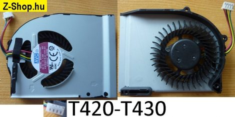Lenovo ThinkPad T420S T420SI T430S T430SI laptop CPU Fan processzor hűtő