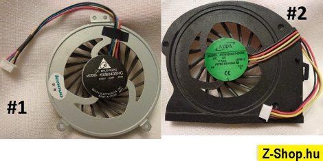 Lenovo ideaPad Z360 laptop CPU Fan processzor hűtő #1 és #2