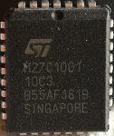 ST M27C1001 1 Mbit (128Kb x8) OTP EPROM