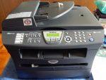 Brother MFC-7820N multifunkciós FF hálózati lézerfax automata lapbehúzóval- csíkosan nyomtat