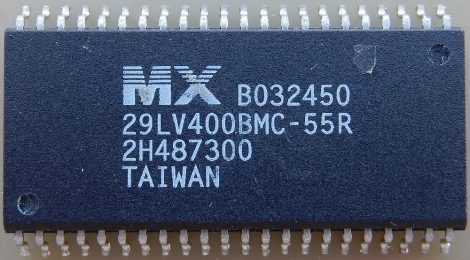 MX 29LV400BMC-55R 4MBit (512kx8,256kx16) CMOS Single Voltage 3V only Flash memory SOP-44 SOP44