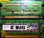 4MB Notebook EDO RAM 72 érintkezős
