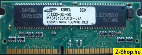 Samsung 128MB PC133 sodimm RAM modul M464S1654DTS-L7A PC133S-333-542 CL3