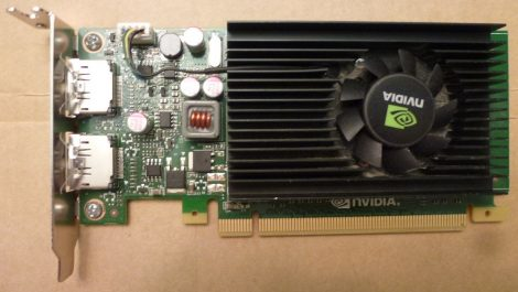 NVIDIA NVS 310 (HP) 512MB GDDR3 PCI-e VGA kártya 2 db. DisplayPort csatlakozóval Dual DP - Low Profile - alacsony
