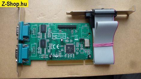 Oxford 2 soros 1 párhuzamos port PCI i-o kártya OX16PCI952 chip