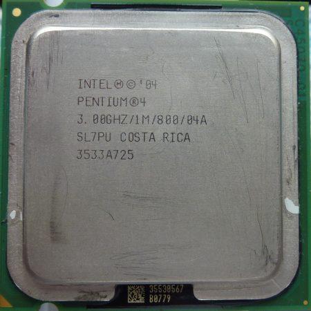 Intel Pentium 4 530J 3.00GHz/1M/800/04A processzor SL7PU s775 cpu