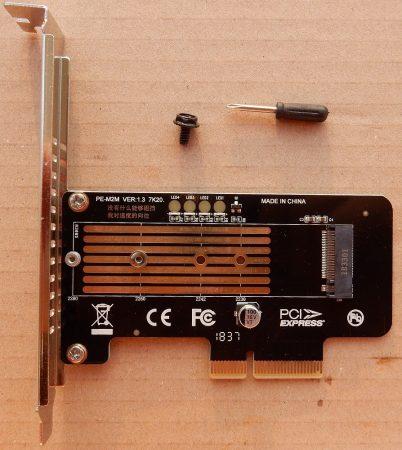 M-Key M.2 NVMe NGFF SSD to PCI-E PCI Express X4 X8 X16 Adapter Converter Card