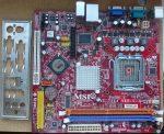 MSI PM9M-V MS-7364 Ver.1.1 s775 alaplap FSB 533 800 1066