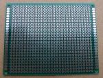 prototípus nyák - furatgalvanizált  - 7x9 cm
