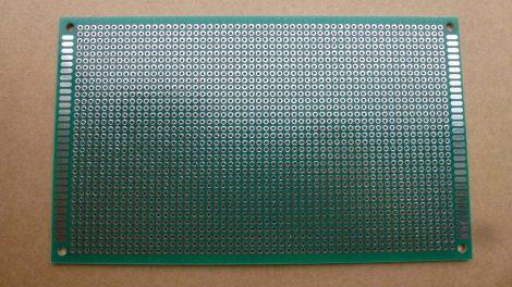 prototípus nyák - furatgalvanizált  - 9x15 cm