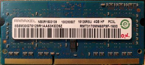 Ramaxel 2GB DDR3 sodimm 1600MHz (PC3-12800S) laptop memoria modul RMT3190ME76F8F-1600 PC3L