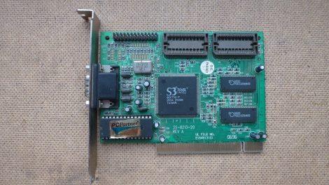 S3 Trio32 PCI VGA kártya 35-8213-20 Rev A 86C732-P