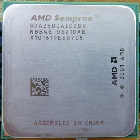 AMD Sempron 2600+ processzor cpu SDA2600AIO2BX s754 NBBWE