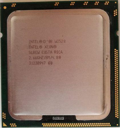 Intel Xeon W3520 2.67GHz 8M 4.80 processzor SLBEW s1366 cpu