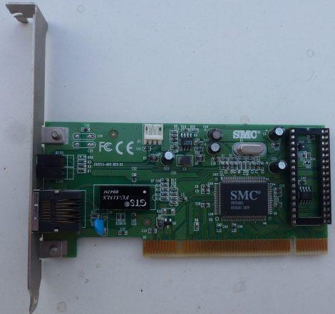 SMC SMC1211TX/WL50 10/100 PCI Ethernet Adapter kártya