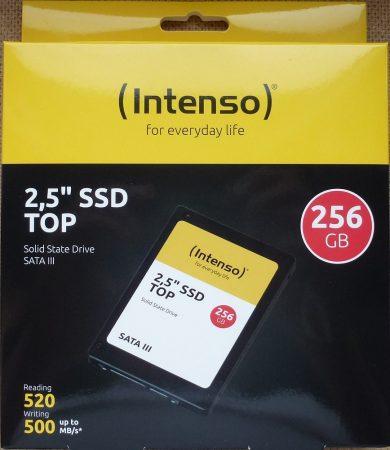 """Intenso 256GB Sata3 SSD 2,5"""" R520/W500"""