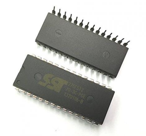 SST 27SF512-70-3C-PG 64kx8 EEPROM DIP28 elektromosan törölhető EPROM