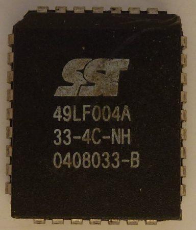 SST 49LF004A 512kx8 Firmware Hub PLCC32 4-megabit