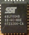 SST 49LF004B 512kx8 Firmware Hub PLCC32 4-megabit