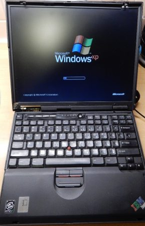 IBM ThinkPad T23 2647-2GU laptop 2006