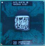 Intel Celeron T3100 notebook cpu processzor 1M Cache, 1.90 GHz, 800 MHz FSB SLGEY