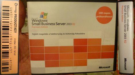 Microsoft Windows Small Business Server 2003 R2 Premium Edition - 180 napos próbaváltozat - 9 CD lemez