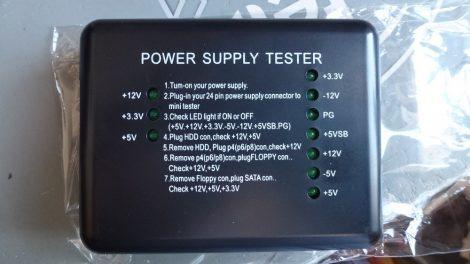 ATX PC tápegység tesztelő műszer - teszter