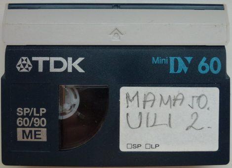 TDK MiniDV 60 kazetta - használt