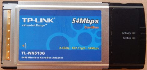 TP-LINK TL-WN510G 54MBit PCMCIA WiFI WLAN ethernet adapter