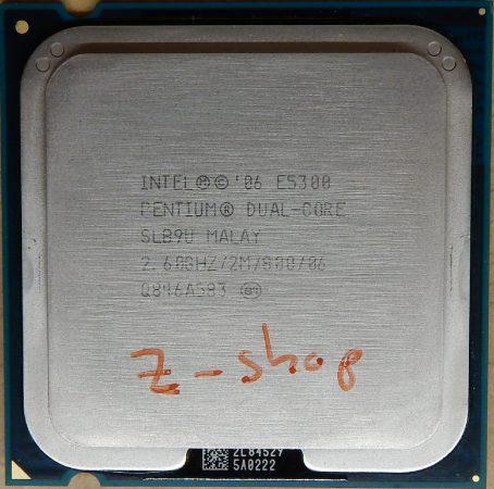 Intel Pentium Dual Core E5300 2.60GHz/2M/800 processzor SLB9U s775 cpu