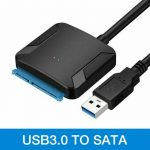 USB 3.0  to SATA kábel 2.5/3.5 HDD SSD Hard Drive Converter Cable adapter
