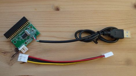 belső USB floppy FDD adapter