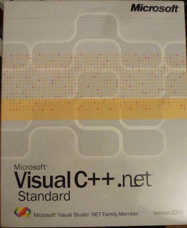 Microsoft Visual C++ .net Standard Version 2002