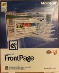 Microsoft FrontPage 2002 - Weblap tervező szerkesztő program - Windows XP, 2000, ME, 98, NT X08-75244 HU