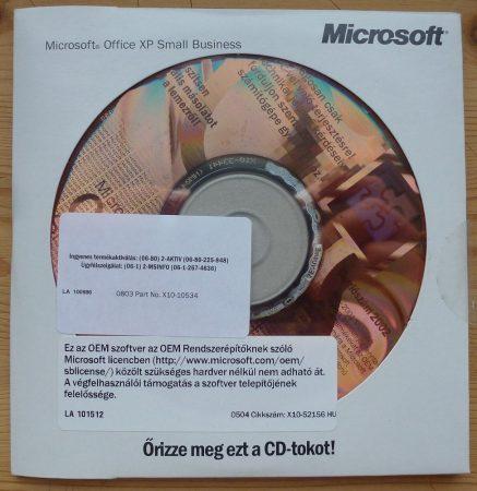 Microsoft Office xp SBE OEM HU telepítő készlet X11-45320