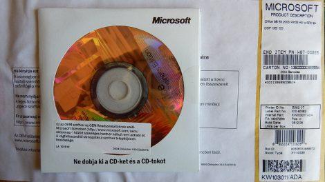 Microsoft Office Small Business 2003 OEM HU SP2 telepítő készlet X11-45336