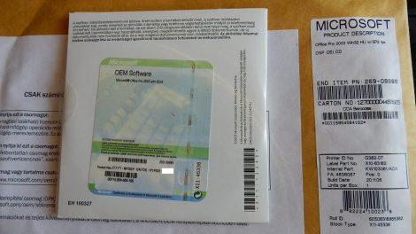 Microsoft Office Professional 2003 OEM HU SP2 telepítő készlet X11-45338