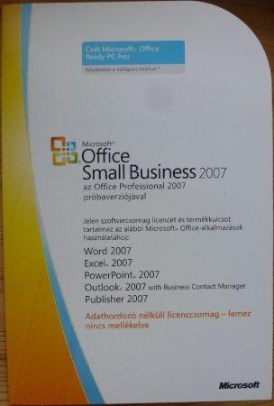 Microsoft Office Small Business 2007 OEM HU telepítő készlet X13-90659
